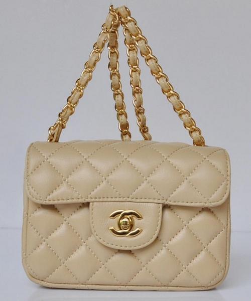 f886ff1c Женская сумка CHANEL Mini Flap Beige (8141) - Интернет-магазин VipSymki в  Киеве