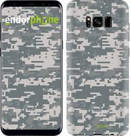 """Чехол на Samsung Galaxy S9 Звёздное небо """"167c-1355-535"""" Камуфляж , Серый"""