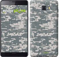 """Чохол на Samsung Galaxy C9 Pro Зоряне небо """"167u-720-535"""" Камуфляж , Сірий"""