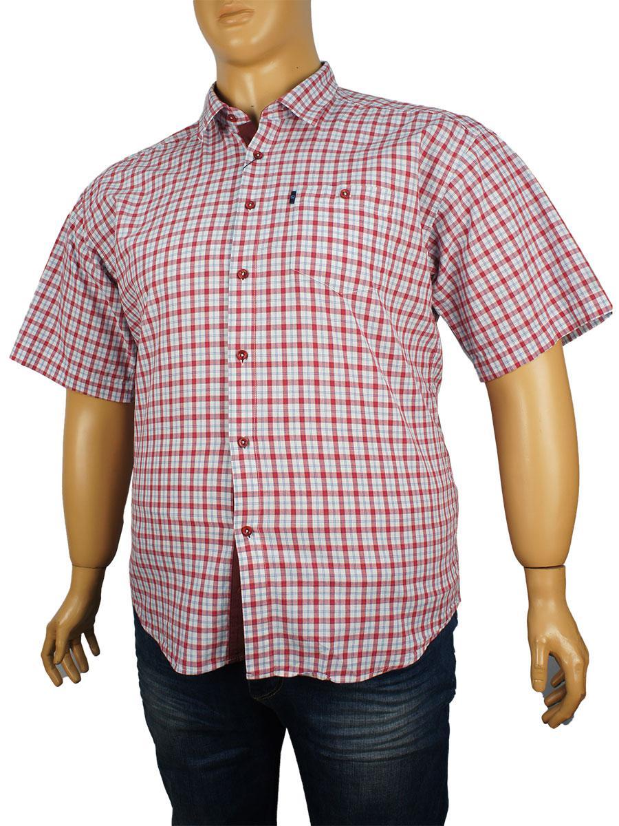 Рубашка мужская Negredo батал 0340 indigo (Л) размер 4XL