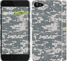 "Чехол на Lenovo ZUK Z2 Звёздное небо ""167c-827-535"" Камуфляж , Серый"
