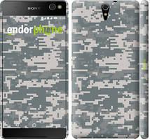 "Чехол на Sony Xperia C5 Ultra Dual E5533 Звёздное небо ""167c-506-535"" Камуфляж , Серый"