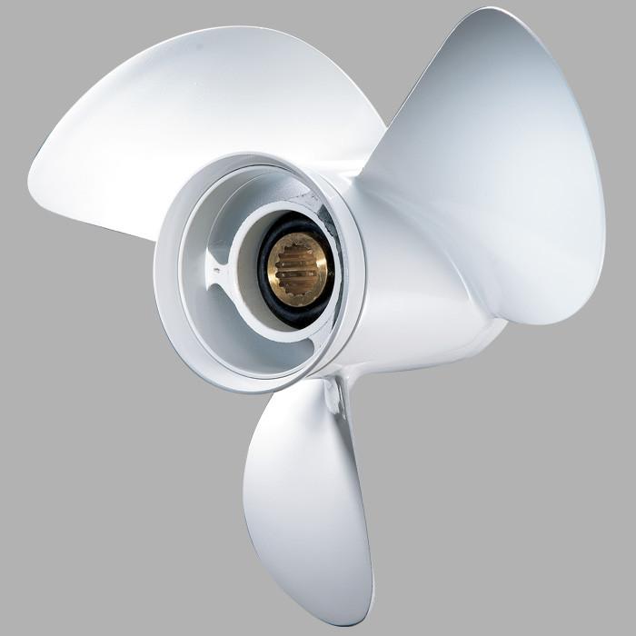 Винт гребной лодочный Yamaha 40-60 л.с. PANA-SILVER 11-1/8x13 663-45945-02-EL алюминий