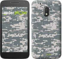 """Чехол на Motorola Moto G4 Play Звёздное небо """"167c-860-535"""" Камуфляж , Серый"""