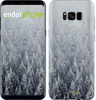 """Чехол на Samsung Galaxy S9 Заснеженные елки """"4187c-1355-535"""""""