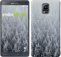 "Чехол на Samsung Galaxy A8 Plus 2018 A730F Заснеженные елки ""4187u-1345-535"""