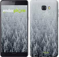 """Чохол на Samsung Galaxy C9 Pro Засніжені ялинки """"4187u-720-535"""""""