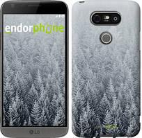 "Чехол на LG G5 H860 Заснеженные елки ""4187c-348-535"""
