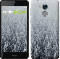 """Чехол на Huawei Honor 6C Заснеженные елки """"4187u-1034-535"""""""