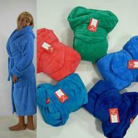 Длинный махровый халат большие размеры