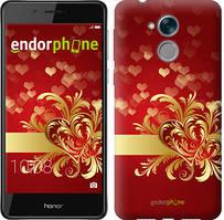 """Чехол на Huawei Honor 6C Ажурные сердца """"734u-1034-535"""""""