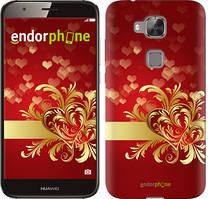 """Чехол на Huawei G8 Ажурные сердца """"734c-493-535"""""""