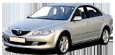 Коврики в салон Mazda 6 2002-