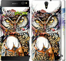 """Чехол на Sony Xperia C5 Ultra Dual E5533 Сова 3 """"3374c-506-535"""""""