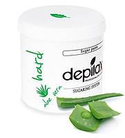 Сахарная паста для шугаринга Depilax Hard Aloe Vera 1000г