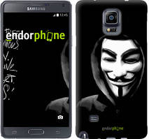 "Чехол на Samsung Galaxy A8 Plus 2018 A730F Анонимус ""832u-1345-535"""