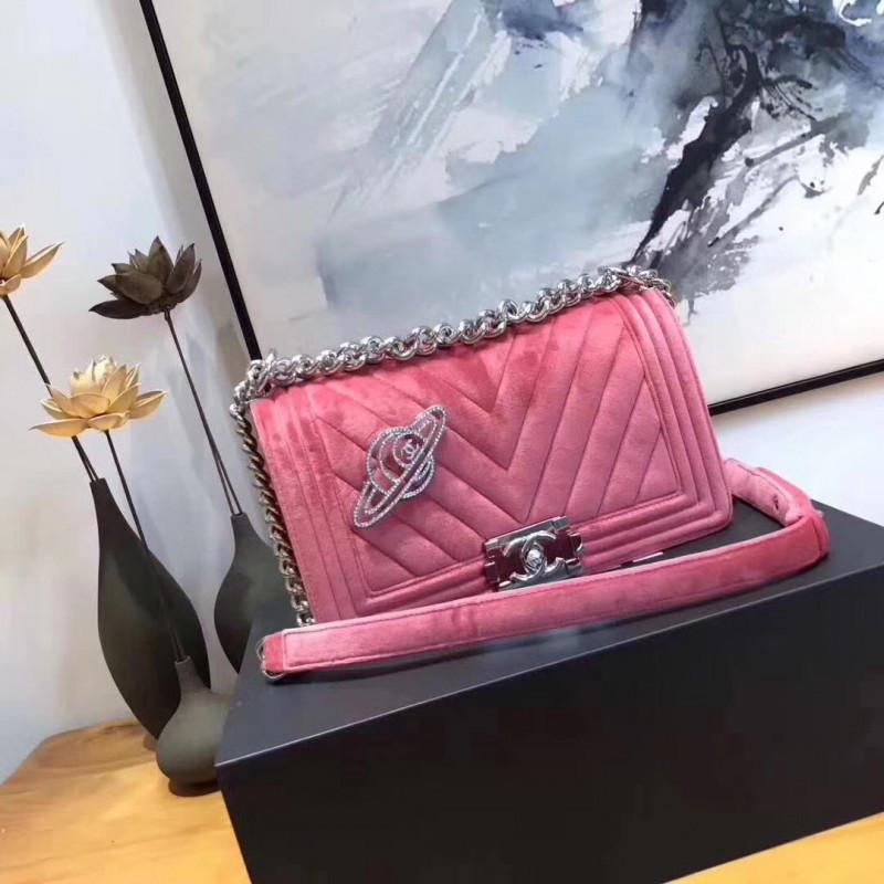 c8186c6ded73 Chanel сумка на плечо женская розовая, цена 8 025,38 грн., купить в ...
