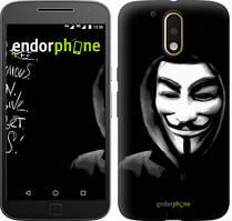 "Чохол на Motorola MOTO G4 PLUS Анонімус ""832c-953-535"""