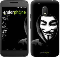 "Чехол на Motorola Moto G4 Play Анонимус ""832c-860-535"""
