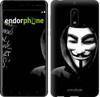 "Чехол на Nokia 6 Анонимус ""832c-898-535"""