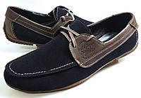 Мужские Осень-Весна Замшевые кроссовки туфли Tommy Hilfiger Denim model 2 Польша, фото 1