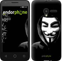 "Чехол на ALCATEL One Touch Pixi 3 4.5 Анонимус ""832u-408-535"""