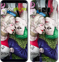 "Чехол на Samsung Galaxy S9 Звёздное небо ""167c-1355-535"" Джокер и Харли Квинн v2 , Синий"