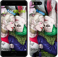 """Чохол на Xiaomi Mi-6 Зоряне небо """"167c-965-535"""" Джокер і Харлі Квінн v2 , Синій"""