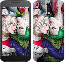 """Чохол на Motorola MOTO G4 PLUS Джокер і Харлі Квінн v2 """"3806c-953-535"""""""