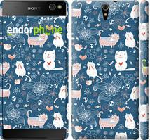 """Чехол на Sony Xperia C5 Ultra Dual E5533 Котята v2 """"1181c-506-535"""""""
