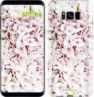 "Чехол на Samsung Galaxy S9 Звёздное небо ""167c-1355-535"" Сирень 3 , Белый"