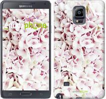 """Чехол на Samsung Galaxy A8 Plus 2018 A730F Звёздное небо """"167u-1345-535"""" Сирень 3 , Белый"""