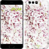 """Чохол на Huawei P10 Plus Зоряне небо """"167u-963-535"""" Сирень 3 , Білий"""