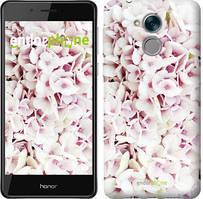 "Чехол на Huawei Honor 6C Звёздное небо ""167u-1034-535"" Сирень 3 , Белый"