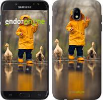"Чехол на Samsung Galaxy J7 J730 (2017) Ребенок с утками ""4047c-786-535"""