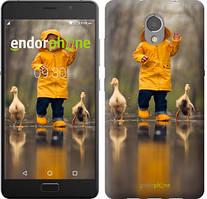 """Чехол на Lenovo Vibe P2 Ребенок с утками """"4047c-792-535"""""""