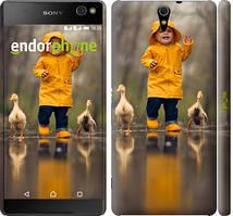 """Чехол на Sony Xperia C5 Ultra Dual E5533 Ребенок с утками """"4047c-506-535"""""""