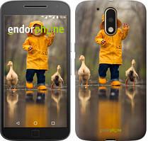 """Чохол на Motorola MOTO G4 PLUS Дитина з качками """"4047c-953-535"""""""