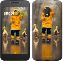 "Чехол на Motorola Moto G4 Play Ребенок с утками ""4047c-860-535"""