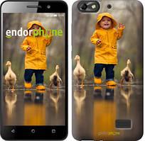 """Чехол на Asus ZenFone 4 Max ZC520KL Ребенок с утками """"4047u-1242-535"""""""