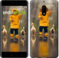 """Чехол на Nokia 6 Ребенок с утками """"4047c-898-535"""""""