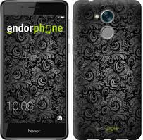 """Чехол на Huawei Honor 6C Чёрно-серые листья """"843u-1034-535"""""""