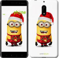 """Чехол на Nokia 6 Миньоны. Рождество """"1485c-898-535"""""""