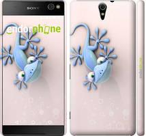 "Чехол на Sony Xperia C5 Ultra Dual E5533 Гекончик ""1094c-506-535"""
