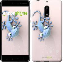 "Чехол на Nokia 6 Гекончик ""1094c-898-535"""