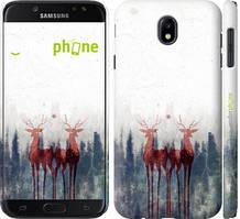 """Чехол на Samsung Galaxy J7 J730 (2017) Олень """"3960c-786-535"""""""