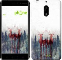 "Чехол на Nokia 6 Олень ""3960c-898-535"""