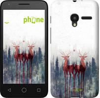 """Чехол на ALCATEL One Touch Pixi 3 4.5 Олень """"3960u-408-535"""""""