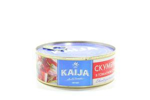 Консерва Kaija 240г Скумбрія в томатному соусі ключ