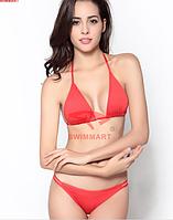 Купальник модный женский много цветов быстро сохнет код DM058 (красный)